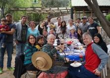 Fiestas Patrias en famille - Cajón del Maipo, Chili