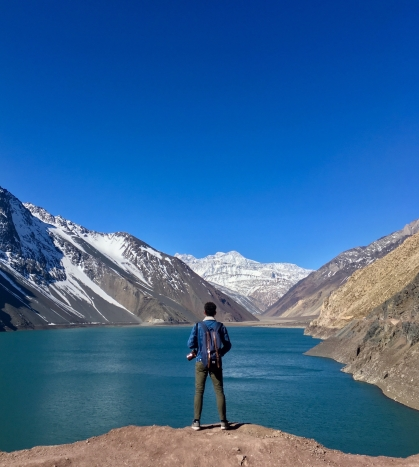 Embalse el Yeso, Cajón del Maipo, Chili