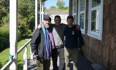 Pablo (peintre), Nico et moi - Puerto Varas, Chili