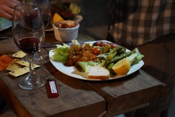 Cuisine fusion avec Zandor - Puerto Varas, Chili