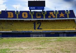 La Bombonera (stade de la Boca) - Buenos Aires