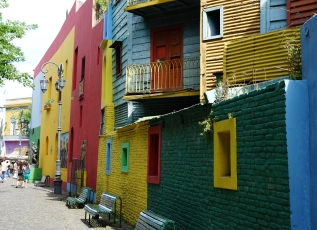 Quartier de la Boca - Buenos Aires