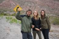 Giorgio, Maëlle et Marie - Cachi, Argentine