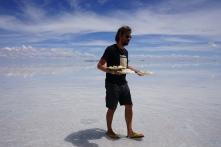 serveur Giorgio - Salar d'Uyuni, Bolivie