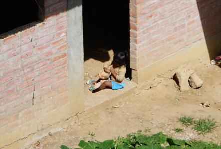 Une fille - Torotoro, Bolivie